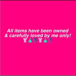 All Items Owned By Me Only! 😊